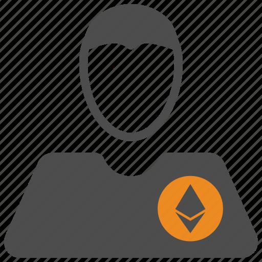 account, avatar, ethereum, user icon