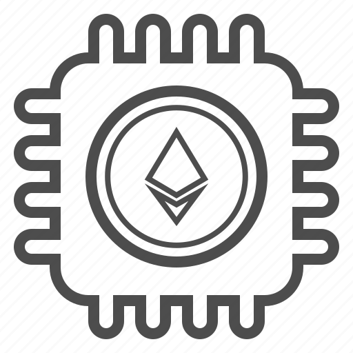 Blockchain, cryptocurrency, ethereum, mining icon - Download on Iconfinder