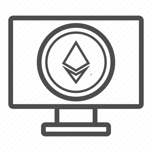 app, browser, ethereum, pc, web icon
