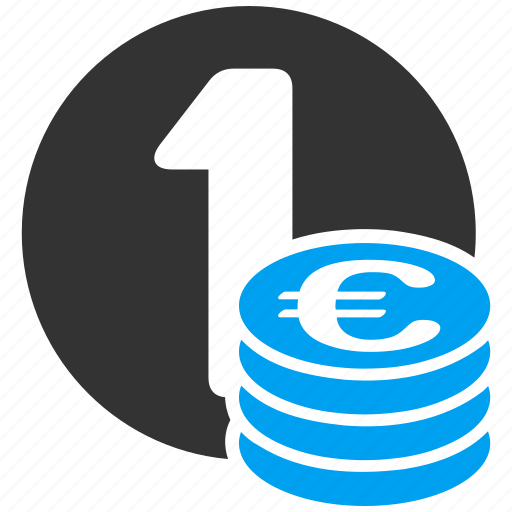 banking, cash, coin column, currency, money, one coin, payment icon