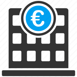 building, company, euro, european, home, house, office icon