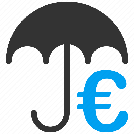 euro, european, incurance, insurance, protect, protection, umbrella icon