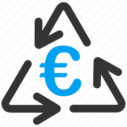 clean, cycle, environment, euro, european, recycle, recycling icon