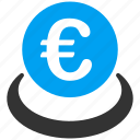 balance, banking, deposit, euro, european, finance, savings icon