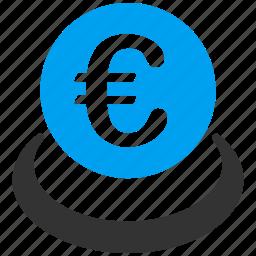 balance, banking, deposit, euro, european, finance, savings icon