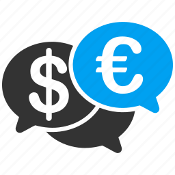 chat, comment, communication, euro, european, forum, talk icon