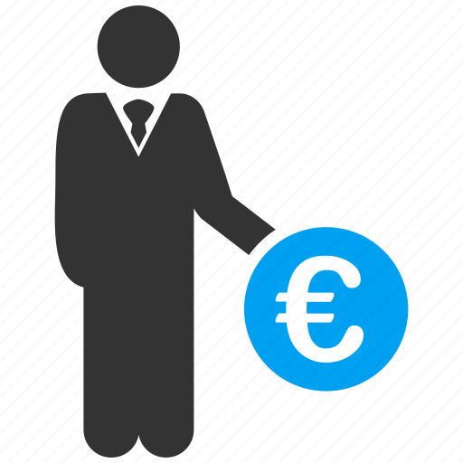 business, euro, european, finance, invest, investing, investor icon