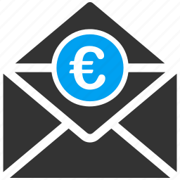 email, envelope, euro, european, letter, mail, message icon