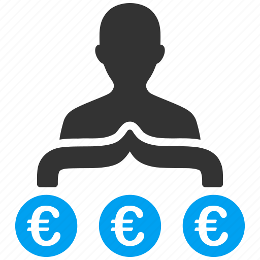 banker, business man, capitalist, company, euro, european, manager icon