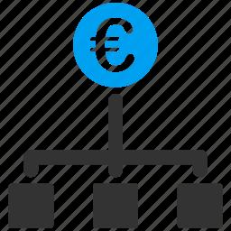 bank, business, cash, euro, european, money, payment icon