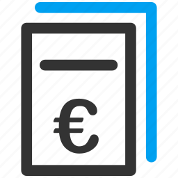 certificate, commerce, contract, finance, offer, pricing, purchase order icon