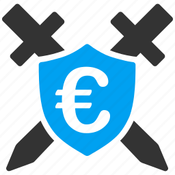 euro, european, guard, police, protection, safety, security icon