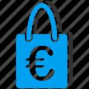 package, sale, european, retail, euro, basket, shopping bag