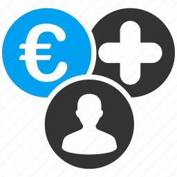 client, euro, european, finance, payment, payout, sales icon