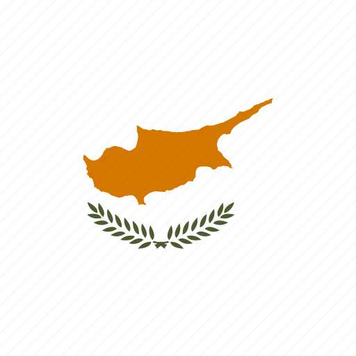 country, cyprus, european, flag, national icon