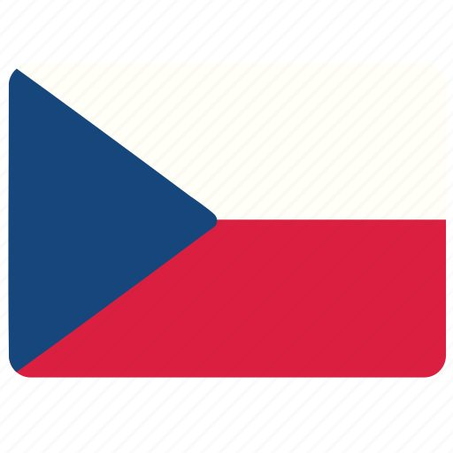 country, czech republic, european, flag, national icon