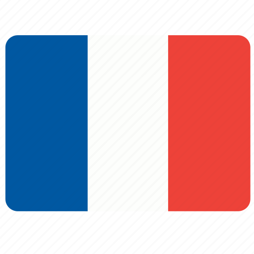 country, european, flag, france, national icon