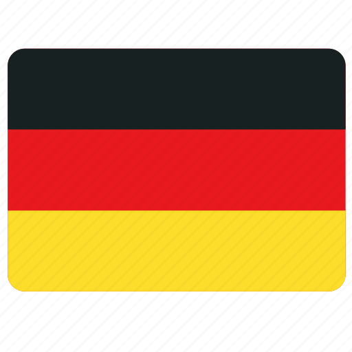 country, european, flag, germany, national icon
