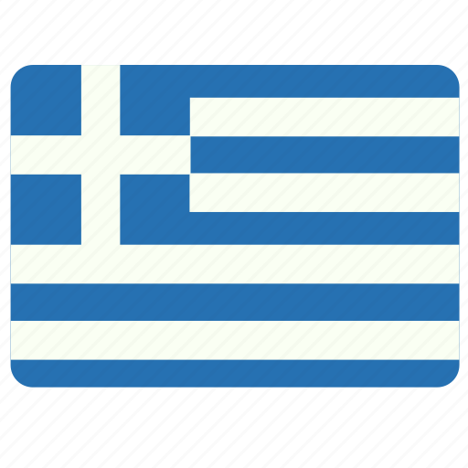 Flag, country, european, greece, national icon - Download on Iconfinder