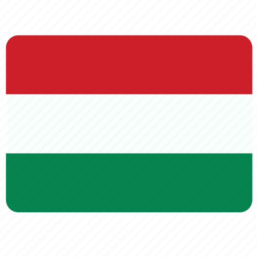 country, european, flag, hungary, national icon