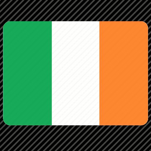 country, european, flag, ireland, national icon