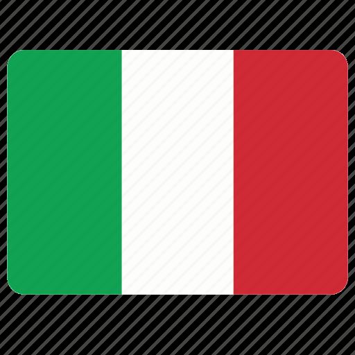 country, european, flag, italy, national icon