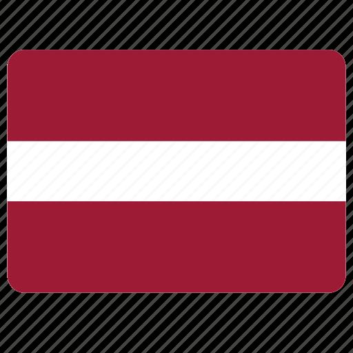 country, european, flag, latvia, national icon