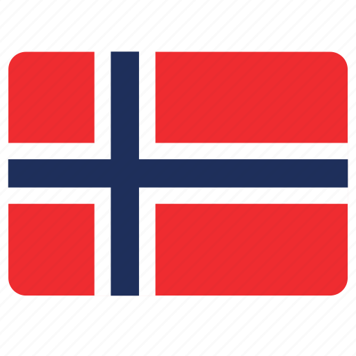 country, european, flag, nation, norway icon