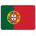 flag, country, european, national, portugal