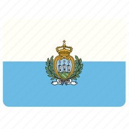 country, european, flag, national, san marino icon