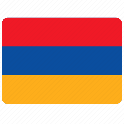 armenia, country, european, flag, national icon