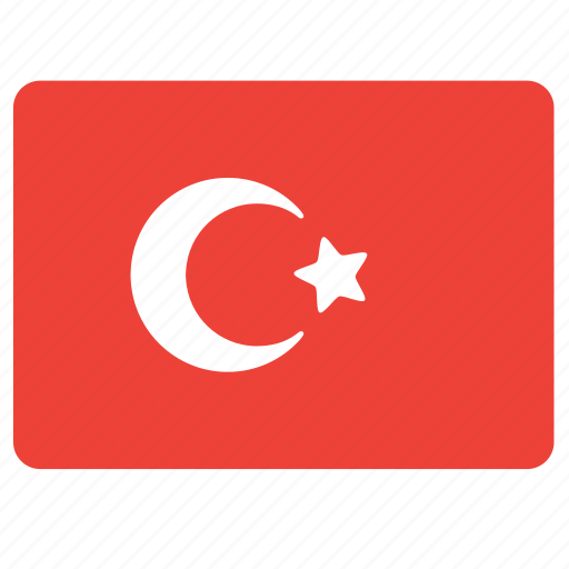 country, european, flag, national, turkey icon