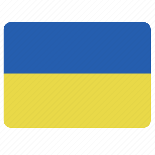 country, european, flag, national, ukraina icon