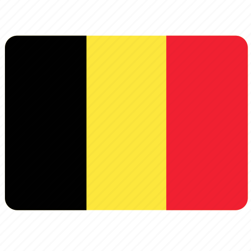 belgium, country, european, flag, national icon