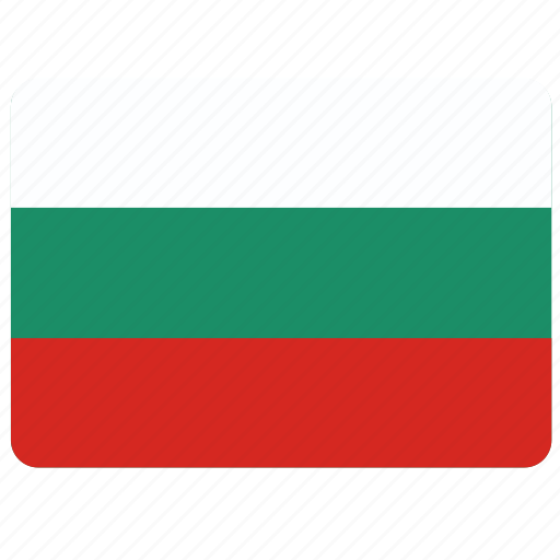 bulgaria, country, european, flag, national icon