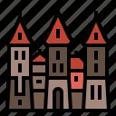belarus, european, landmark, mir, mir castle icon