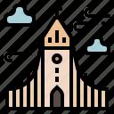 european, iceland, landmark, reykjavik, hallgrimskirkja church