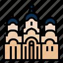 prishtina, kosovo, landmark, european, gracanica monastery