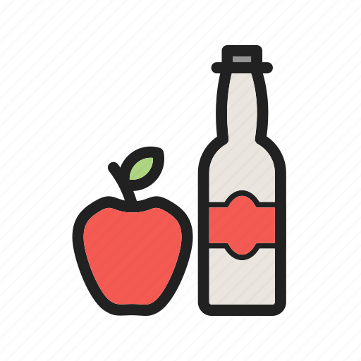 apple, cider, food, fresh, healthy, organic, vinegar icon