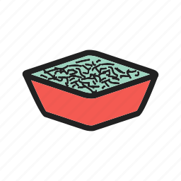 bowl, coleslaw, food, healthy, meal, salad, vegetable icon