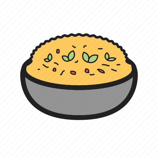 cheese, food, healthy, italian, milanese, rice, risotto icon