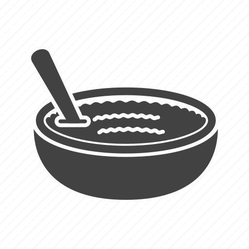 bowl, cinnamon, cuisine, lemon, pudding, rice, tasty icon