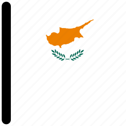 country, cyprus, flag, flags, national icon