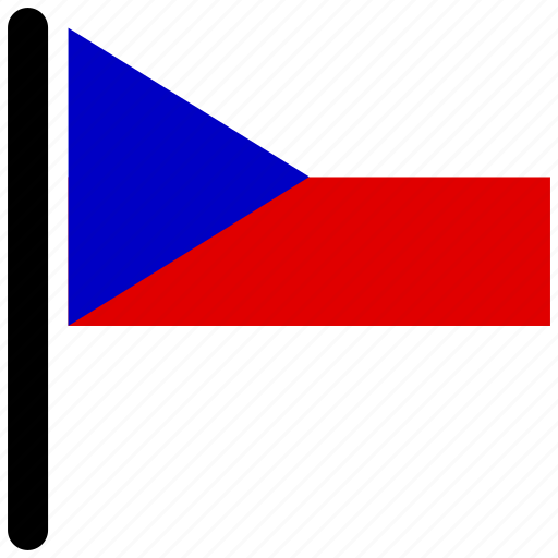 country, czech, czech republic, flag, flags, national icon