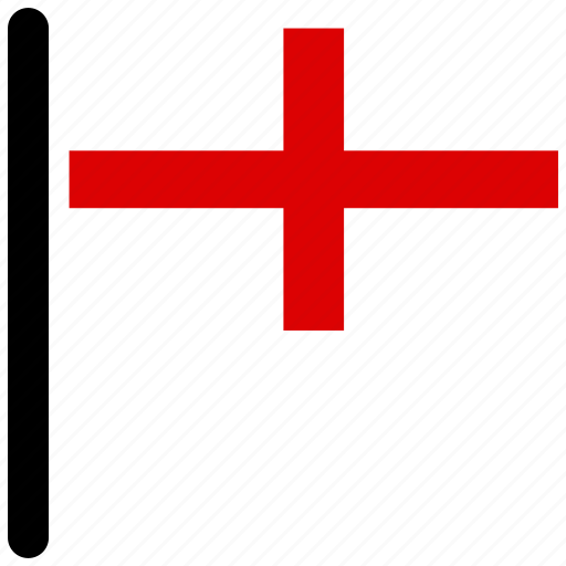 american, england, flag, flags, rectangular, square icon