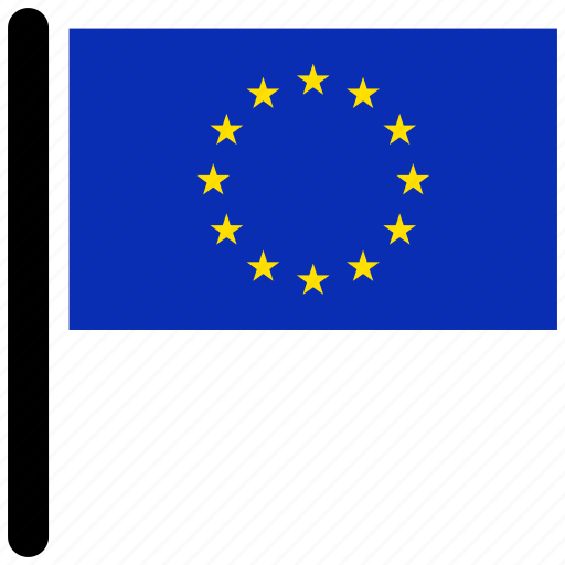 country, euro, european, flag, flags, national icon