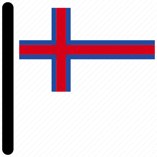 country, faroe, flag, flags, national icon