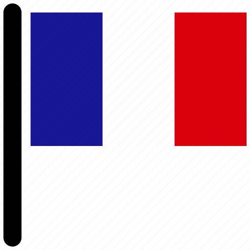 country, flag, flags, france, national icon