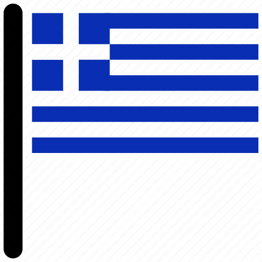 country, flag, flags, greece, national icon