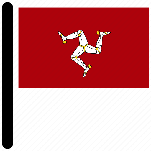 european, flag, flags, isle of man, isleofman icon